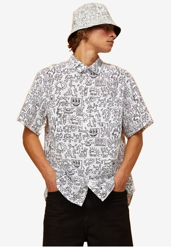 H&M white Regular Fit Shirt 6E4E4AA090DB18GS_1