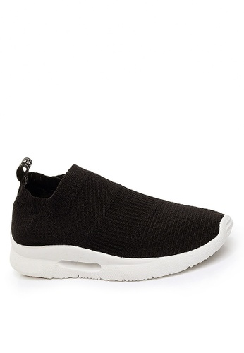 Twenty Eight Shoes black Comfortable Knitted Socks Sneake VTF02 37630SH95A4C72GS_1