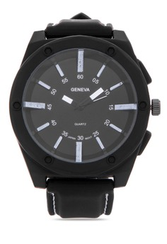 Simple Mark Analog Silicone Watch