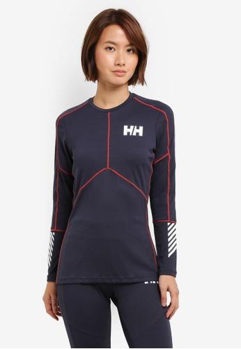 Helly Hansen blue HH W LIFA ACTIVE CREW GRAPHITE BLUE B34CCAAD7C9766GS_1