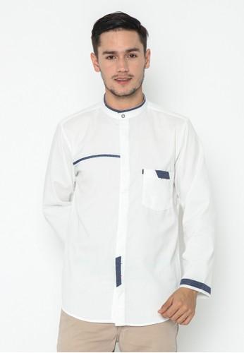 AL-LUTHFI white Koko Panjang Afnan C6687AA4BF2733GS_1