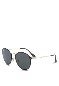59aa8bbc9bc Ray-Ban gold Ray-Ban RB3574N Sunglasses 5B811GLB73DDBFGS 1