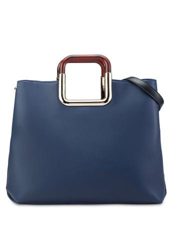 方形提把簡約托特包、 包、 包ZALORA方形提把簡約托特包最新折價