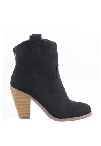 London Rag 黑色 London Rag女士黑色靴子LP6416-01 62E73SH5BF4B5FGS_1
