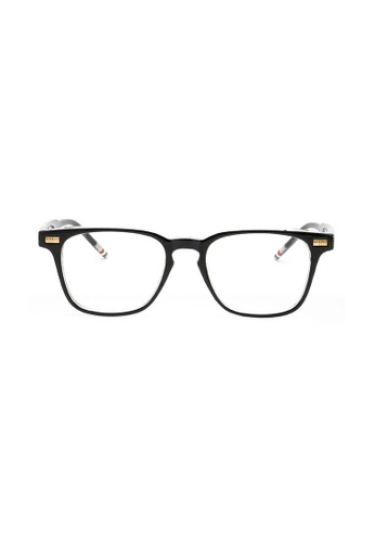 Kyfer's Eyewear & Essentials black Angular Smart Glasses KY376AC68IRZSG_1