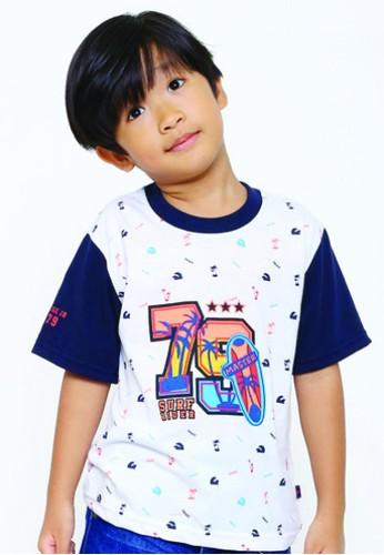 YEGE white YeGe T'shirt Anak Putih 236B1KAEF67843GS_1