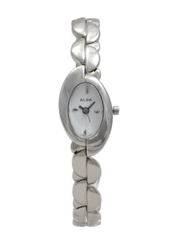 Alba silver ALBA Jam Tangan Wanita - Silver White - Stainless Steel - AC3B29 F31A2ACE0008C8GS_1