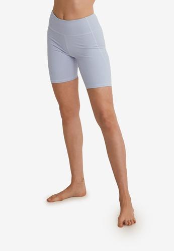 Mango blue Breathable Sports Leggings 5F930AAD66099AGS_1