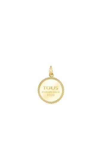 Tous gold TOUS Silver Vermeil Minne Pendant 53BA0ACE1E7B0BGS_1