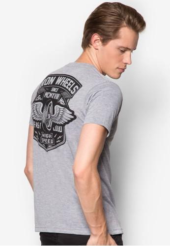 Iesprit hk outletron Wheels 圖文設計T 恤, 服飾, 印圖T恤