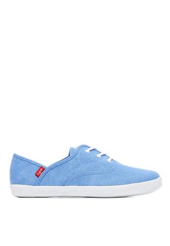 Life8 藍色 Casual 水洗布 軟木棉花糖系列 休閒女鞋-09680-藍色 LI216SH099XLTW_1