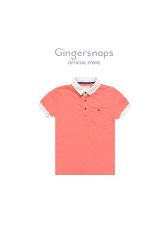 Gingersnaps Gingersnaps MIAMI CRUISING POLO BURNT CORAL 32468KA9428FEAGS_1