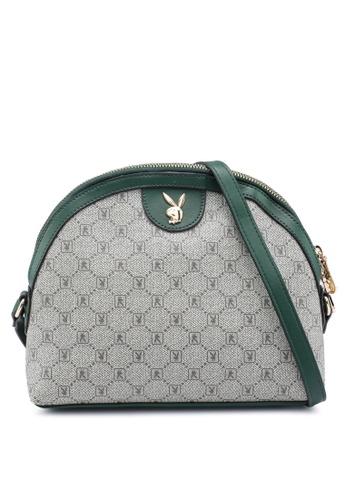 PLAYBOY BUNNY green Ladies Sling Bag 36AF7AC537517BGS_1