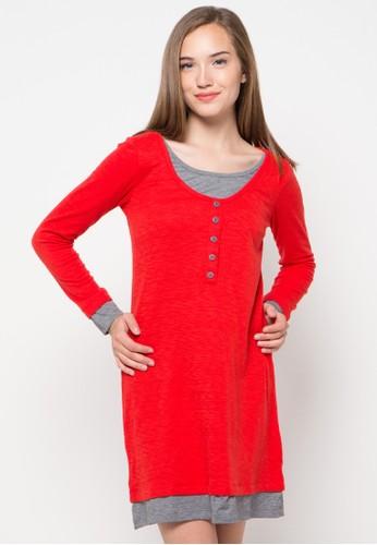GRAPHIS red Mini Dress GR530AA70YYNID_1