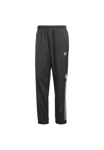 ADIDAS black adidas Originals Adicolor 3D Trefoil 3-Stripes Track Pants E9B51AA7C2EE9AGS_1