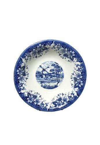 Claytan 185B Windmill Blue-Cereal Bowl 2A0D3HL80ACA9DGS_1