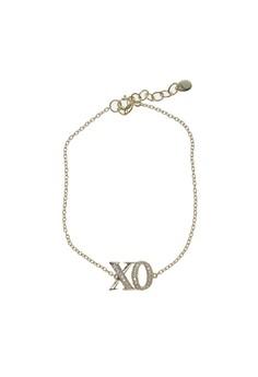 Embellished XO Bracelet