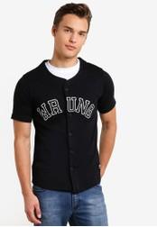 Wrung black Hitman Shirt WR395AA77MPYMY_1
