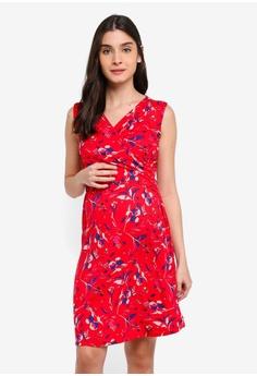 05336672e4bc7 Envie De Fraise red Maternity Divine Tank Dress C873AAA54A50BFGS_1