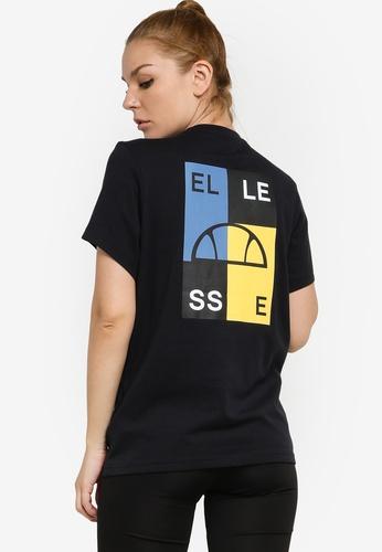 Ellesse black Abrita Tee C5D10AAC34D575GS_1