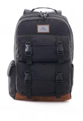 High Sierra black Quad Daypack Black 52BBAACBC5697EGS_1