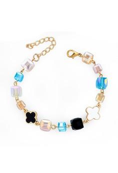 Square Beads Bracelet by ZUMQA