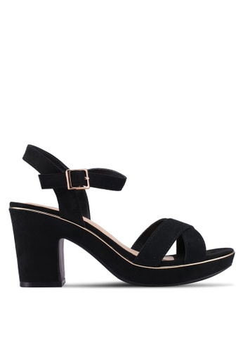Dorothy Perkins black Wide Fit Black Romy Heels DE9D3SH77FB4A1GS_1