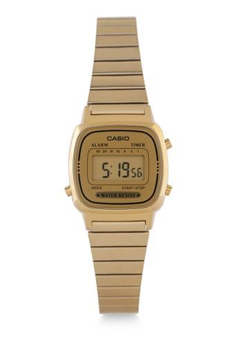 Casio gold Womens Digital Watches La670Wga-9Df 3C24EACFC082B0GS_1