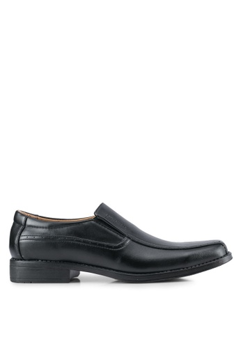 Rocklander black Slip On Dress Shoes RO978SH0SMMEMY_1