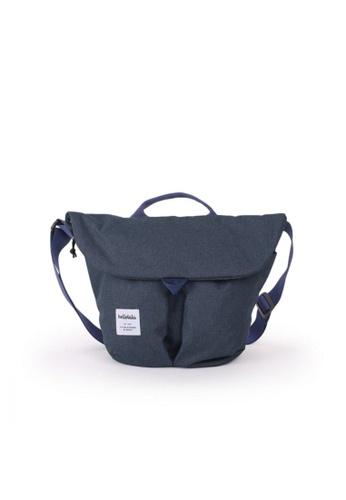 Hellolulu blue Hellolulu Kasen Shoulder Bag (Sapphire) 9174EAC7B30096GS_1