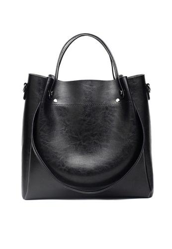 Twenty Eight Shoes black VANSA Simple Design Hand Bag   VBW-Hb028 6039EAC5C17A9AGS_1