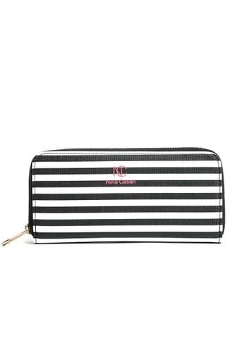 LULUGIFT Lulugift Black & White Zebra Wallet LU989AC0RKYJMY_1