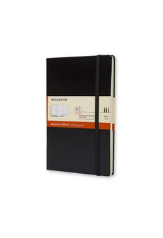 Large Reporter Soft Plain Notebook