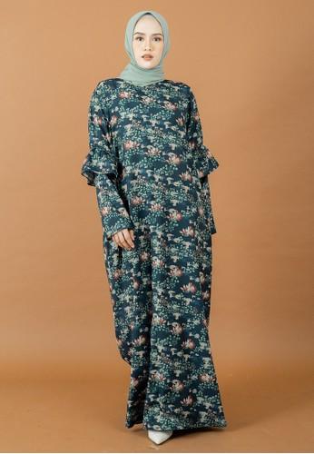 MOOIMOM green MOOIMOM x Restu Anggraini - Asoka Dress C7FE3AA71C6E68GS_1