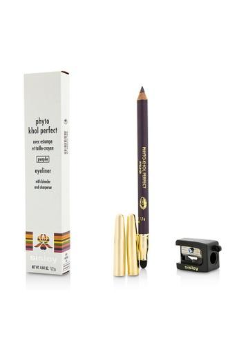 Sisley SISLEY - 植物絲緞眼線筆 (附暈染刷及削筆器) - # Purple亮紫色 1.2g/0.04oz 52E29BE18CD604GS_1