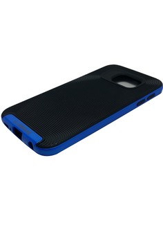 V-Series Shockproof Case for Samsung Galaxy S6 (Blue)