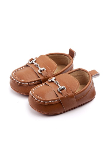 RAISING LITTLE brown Henry Shoes - Brown 92984KS0007A0BGS_1
