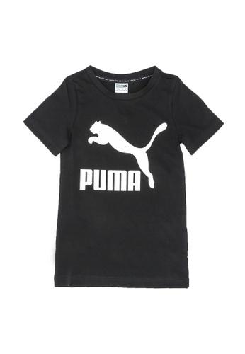 PUMA black Classics Youth Tee 391A0KA52F52F5GS_1