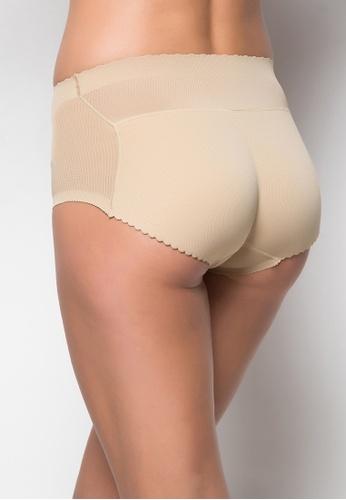 Lady Grace beige High Waist Butt Enhancer 2279FUS70B6AA9GS_1