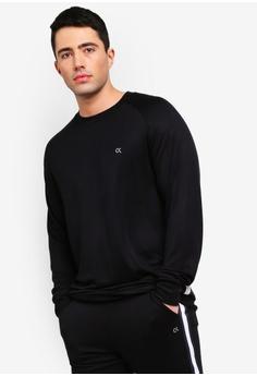 d7cfe369c5c3ff Calvin Klein black Play Pullover - Calvin Klein Performance  7249CAAF2100E9GS 1