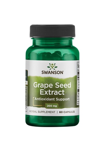 Pure & Well SWANSON HERB GRAPE SEED EXTRACT 200MG 60 CAPS 3DC5CESF5722A6GS_1