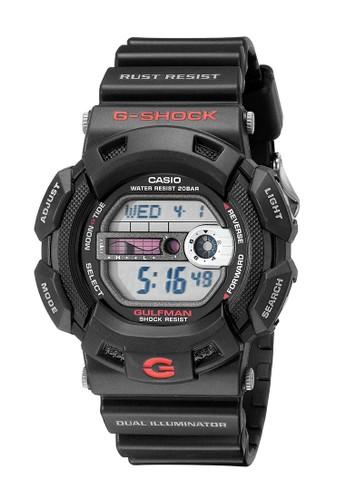 Casio black Casio G-SHOCK Jam Tangan Pria - Black Red - Resin - G-9100-1DR 94E4EACF74A223GS_1