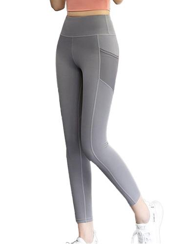 Sunnydaysweety grey High-Waist Stretch Tights A081022GY 94DF0AA3319A8EGS_1