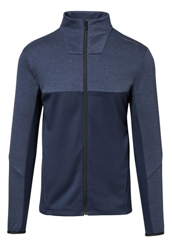 Porsche Design black and navy PUMA FW19 Active Fleece Jacket S Navy Black for Men 93A5FAA766A06BGS_1