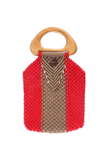 Style Cat red and beige Style Cat Tokyo Macrame Cherry DDF30AC1F70346GS_1