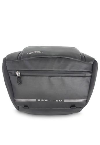 Consina black Bike Stem Sling Bag 14D04ACD09221CGS_1