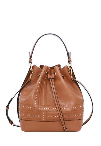 BONIA brown Brown Forma II Drawstring Bucket Bag M 5DB90AC582D879GS 1 121bf925b0