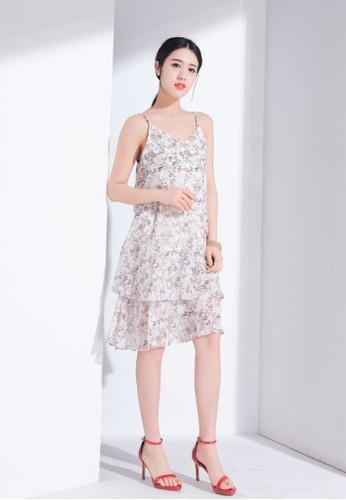 Zafiti multi Sling Printed Dress 5028CAA214BD02GS_1