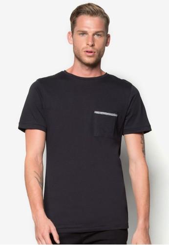 繩子口袋T 恤, 服飾,esprit hk T恤