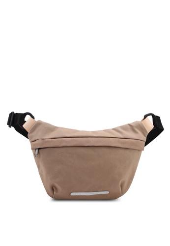 Rawrow beige Waxed 510 R Cross Raw Bag BBA4CACDF12A74GS_1